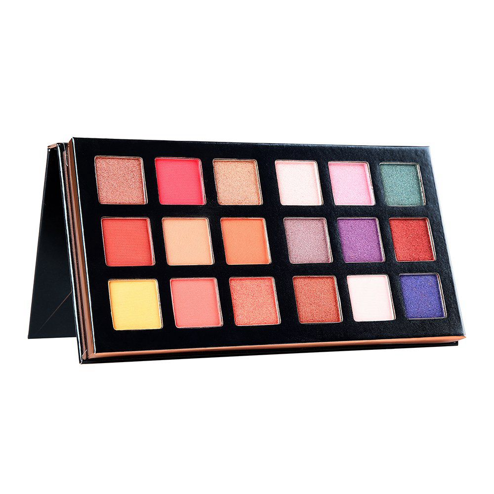 BEAUTY GLAZED Pressed Shimmer Matte Eye Shadow Fashion MakeUp LongLasting Eye Palette Waterproof Eyeshadow Palette Makeup Tool in Eye Shadow from Beauty Health