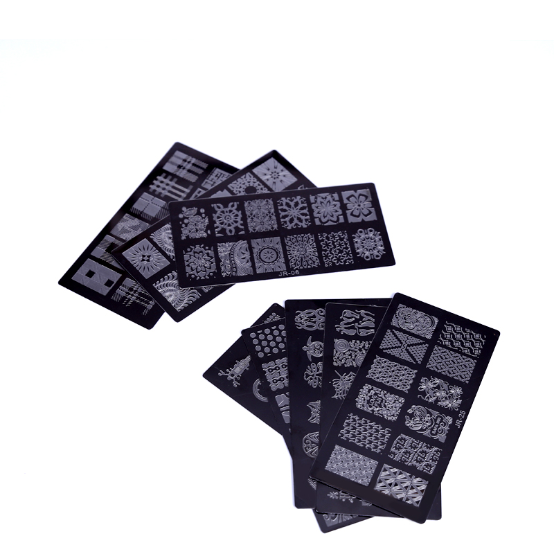 New-1Pc-High-Quality-JR-Nail-Stamping-Plates-Stainless-Steel-Image-Stamping-Nail-Art-Manicure-Template (2)