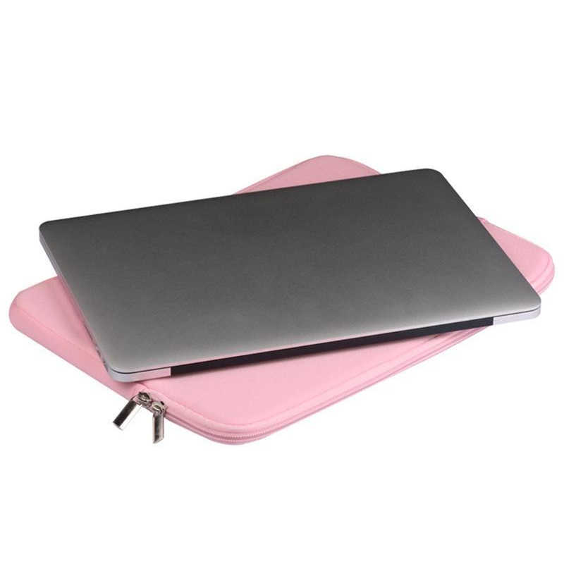ライナースリーブケースのための apple の Macbook Air pro の網膜 11 12 13 15 Dell xiaomi ノート 14 15.6 コンピュータカバーラップトップバッグ