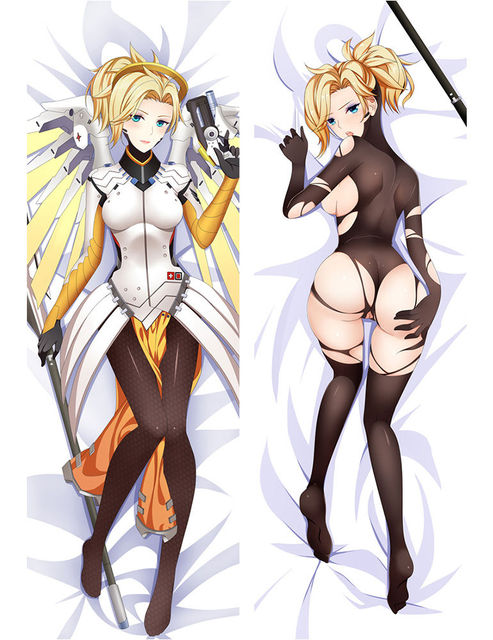 japan anime hugging body pillow case 150 50 ow overwatch anime mercy