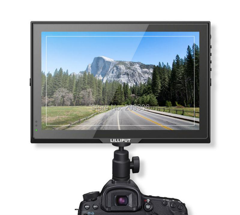 "LILLIPUT Q7 7"" Field Monitor 1920x1200 HD Cross Conversion 3G-SDI HDMI Advanced YRGB Peak Time Code/Waveform Vector Scope"