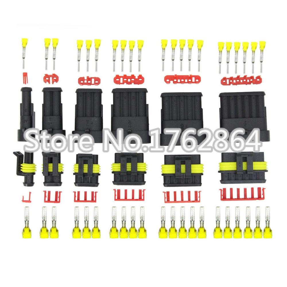 60 sets contain (1+2+3+4+5+6P) AMP 1.5 Connectors male and female Plug, Automotive waterproof connectors Xenon lamp connector агхора 2 кундалини 4 издание роберт свобода isbn 978 5 903851 83 6