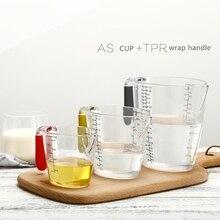 250 мл/500 мл/1000 мл Прозрачный мерный стакан пластиковый мерный стакан измерительные инструменты для кухонные инструменты для выпечки пищевой