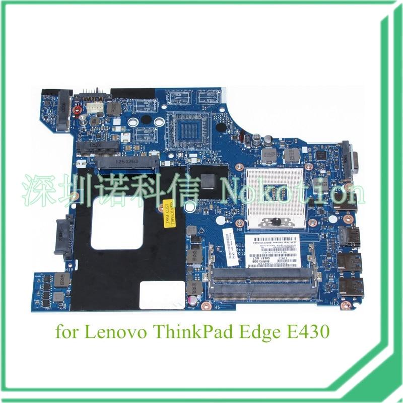 FRU 04Y1168 For lenovo thinkpad Edge E430 laptop motherboard QILE1 LA-8131P Intel HD4000 graphics 14'' DDR3 new fru 04w2021 p0b01900 for lenovo thinkpad t520 t520i laptop motherboard intel qm67 nvidia geforce nvs4200m graphics