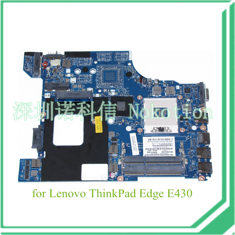 NOKOTION FRU 04Y1168 For lenovo thinkpad Edge E430 laptop motherboard QILE1 LA-8131P Intel HD4000 graphics 14 DDR3NOKOTION FRU 04Y1168 For lenovo thinkpad Edge E430 laptop motherboard QILE1 LA-8131P Intel HD4000 graphics 14 DDR3