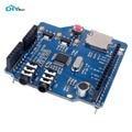 DIYmall VS1053B VS1053 MP3 Модуль Музыка Щит Доска с Микро TF Слот Для Карты SD для Arduino UNO Mega DIY FZ2599
