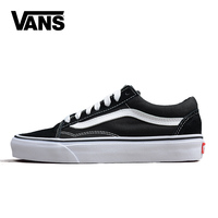 Original Vans Old Skool Canvas Shoes Women Men 2018 Fashion Unisex Canvas Shoes Vulcanized Casual Shoes
