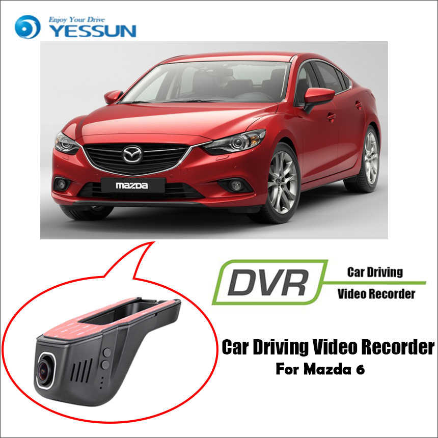 YESSUN for Mazda 6 Car DVR Driving Video Recorder Mini Control APP Wifi Camera Registrator Dash Cam Night Vision