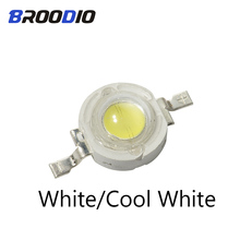 20pcs LED Lamp Lighting High Power Chips 1W 3W Cool Warm White Light Emitting Diodes Floodlight Spotlight Beams Brightness 3Watt