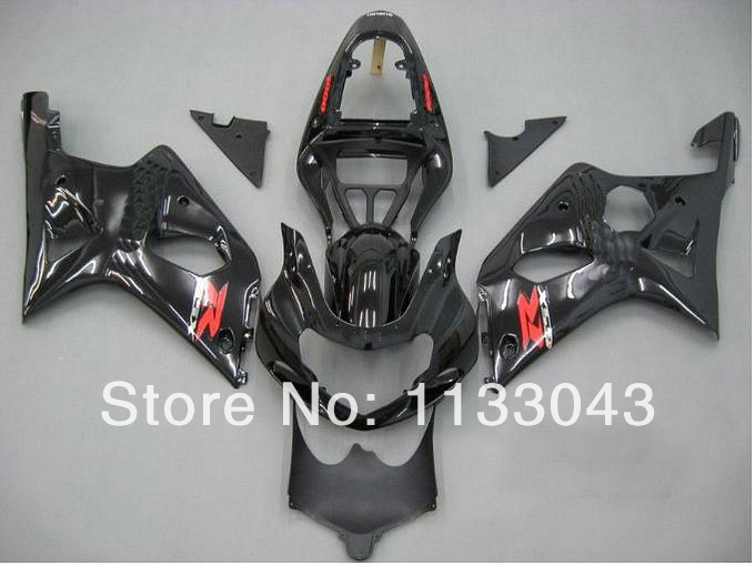7gifts Black M435Fairing Kit For SUZUKI GSX-R1000 GSXR1000 GSX R1000 GSXR 1000 K2 K1 00 01 02 2000 2001 2002 Fairings