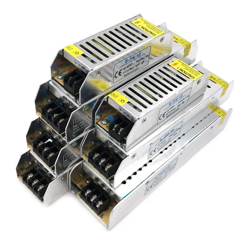 Led Power Supply 12 V Volt DC 12V LED Driver Adapter Lighting Transformers trafo 36W 100W