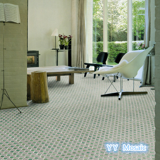 Interior Wall Sticker Glimmer Glazed Glass Mosaic Kitchen Backsplash Floor Wall Tile Mosaic Crystal Glass Mosaic