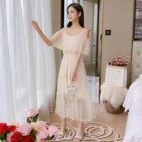 Elegant Lace Summer Dress For Women 2019 Casual Vintage Sexy Dresses Female Long Sundress Maxi Party Night Dress AIYANGA