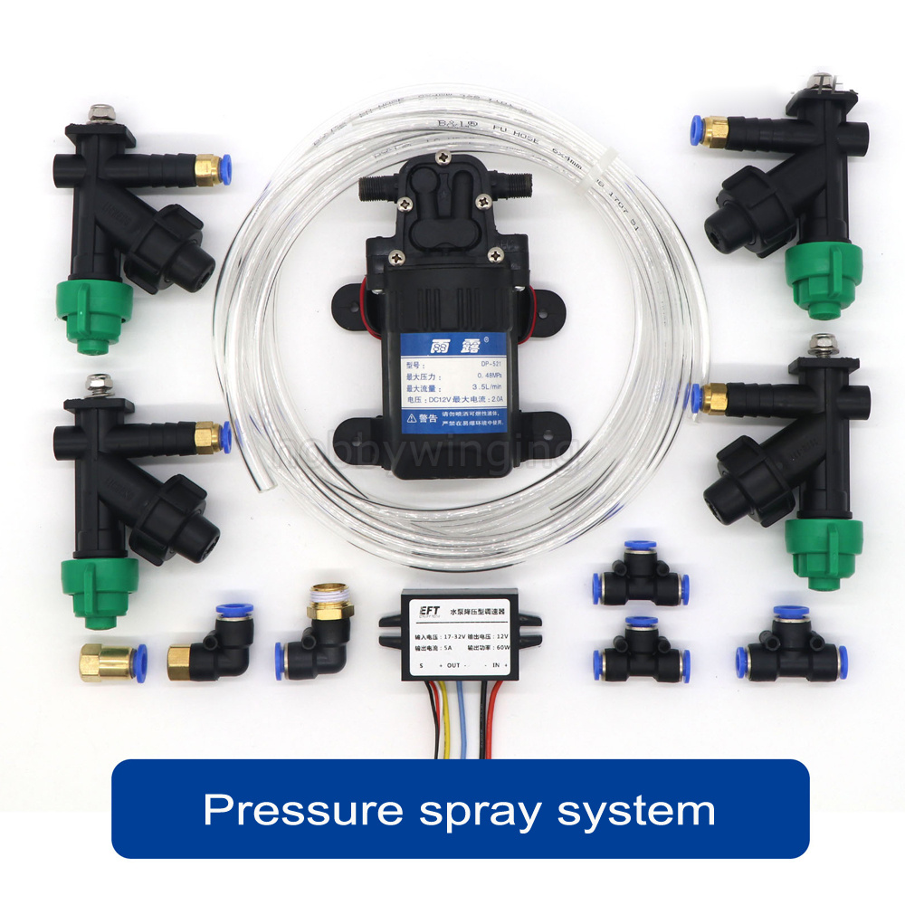 Agriculture drone spray system accs Nozzle + Water pump + Buck type governor adapter + Pipes combo for 5/10L/15/20L Agricultura pastoralism and agriculture pennar basin india