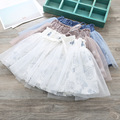 New Children's Clothing Girl Printed Gauze Skirt Waist Skirts