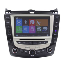 Car Dvd Player For hand acc ord 07 gps navigation bluetooth equipment screen Rear Camera MP3 MP4 Players Radio Tuner Free map TV
