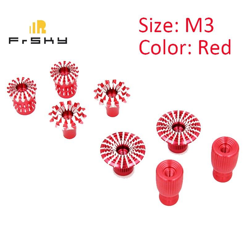 2 PIECES D/'ORIGINE Frsky M3 CNC Aluminium Cardan Stick se termine pour X9D PLUS se X9E X12S