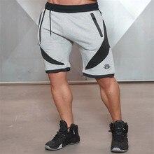 2016 Новое Качество Мышц Brothers мужской дышащий и фитнес шорты тренировки хлопок тощий Профессиональный
