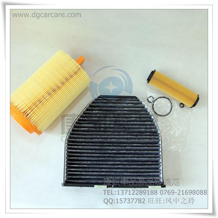Воздушный фильтр + салонный фильтр + масляный фильтр для Mercedes-Benz C180K C200 C230