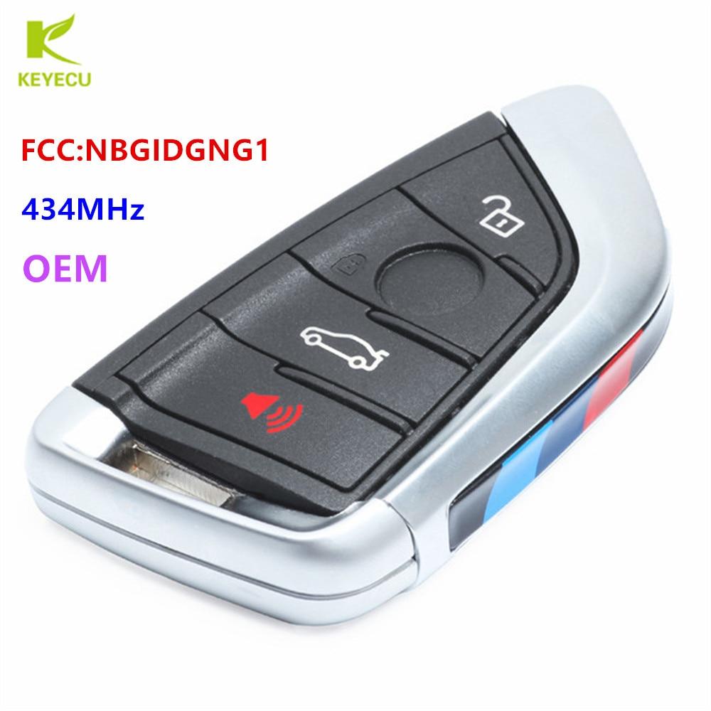 1 OEM New Replacement Keyless Remote Key Fob BMW SMART KEY PROXIMITY YGOHUF5662