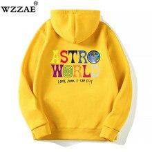 Трэвисс Скотт ASTROWORLD WISH YOU WAS HERE толстовки модные буквы ASTROWORLD Толстовка уличная Мужская Женская пуловер Толстовка