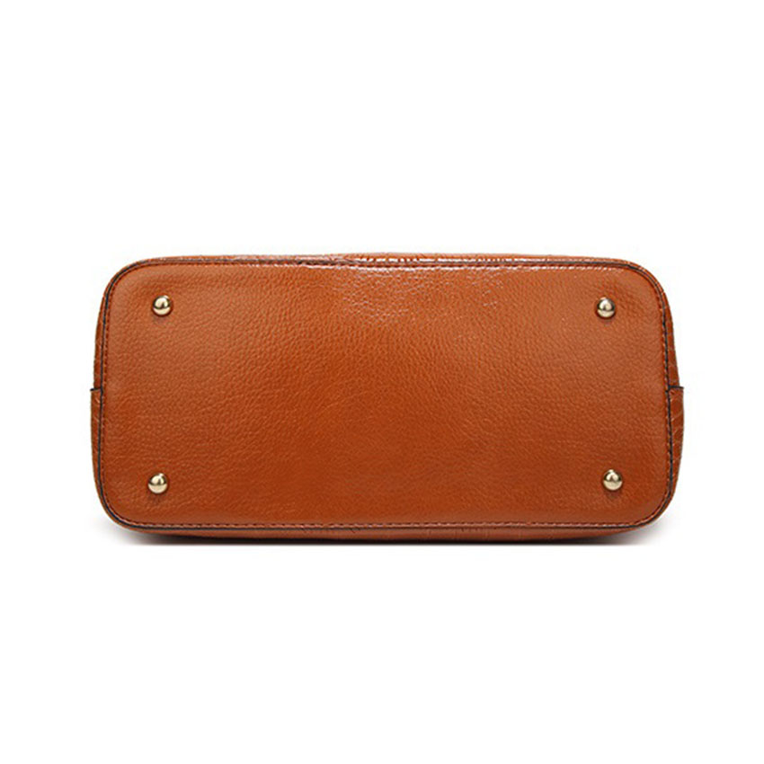 Luxury brand Large Leather Tote handbag For women Shoulder bag top-handle Office Shop hand bag bag Arrow hardware Design 4