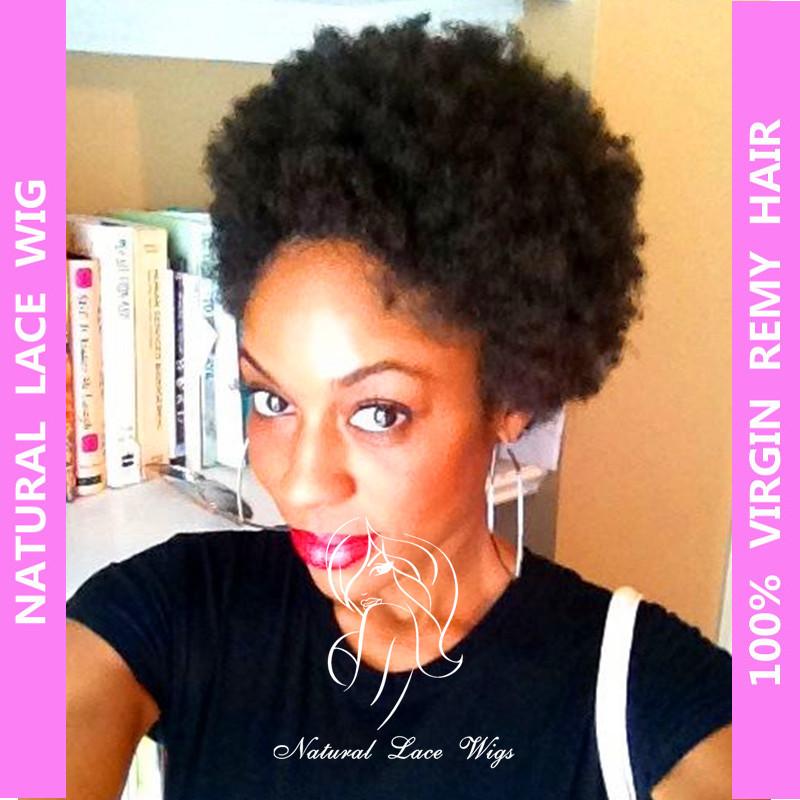 Incredible Aliexpress Com Buy Brazilian Virgin Natural Human Hair Wigs Afro Short Hairstyles For Black Women Fulllsitofus