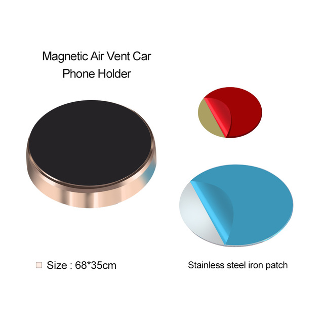 Magnetic Phone Holder Car Dashboard & Wall Sticker
