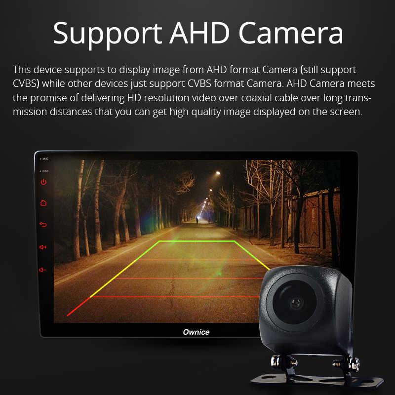 Ownice K6 z systemem Android 8.1 Octa 8 rdzeń Radio samochodowe 2GB pamięci RAM 32GB ROM nawigacja GPS DVD wsparcie 4G LTE kamera ahd bluetooth usb wideo