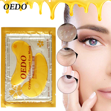 10pcs=5pack Anti-Aging Gold Crystal Collagen Eye Mask Skin Care Eye Patches Crystal Beauty Anti Dark Circle Anti-Puffiness Cream