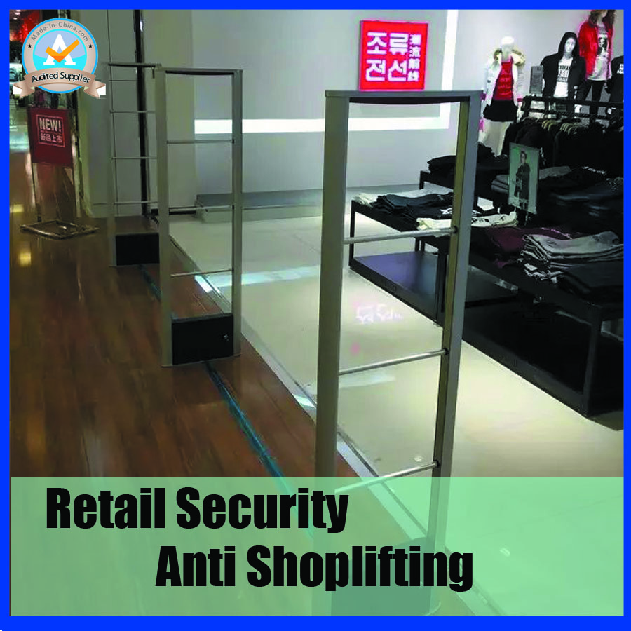2018 Fashion design retail store anti theft system with sound and light alarm,RF 8.2Mhz eas security system with DSP board все цены