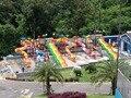 Super Equipo de Parque Acuático Tobogán de Agua antioxidante Fábrica Directa HZ16-178a