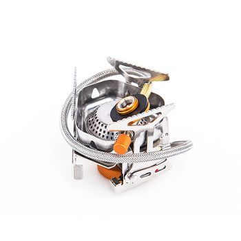 Widesea Wind proof outdoor gas burner camping stove lighter tourist equipment kitchen cylinder propane grill 3