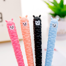 1 pcs Cartoon alpaca Gel Pen kawaii stationery School Supplies Office Cute writting pens paperlaria