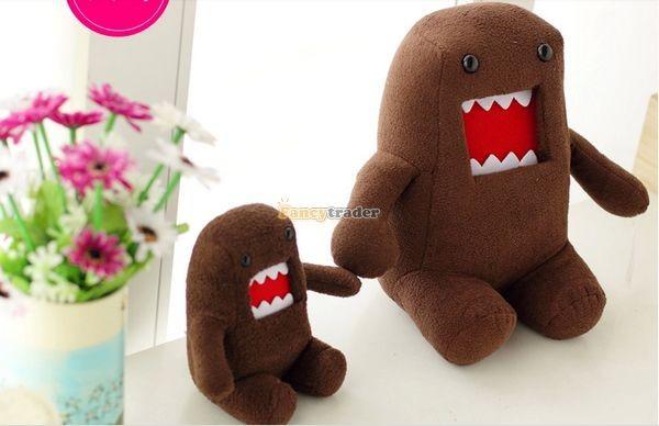 Fancytrader Novelty Toy! 20\'\' 50cm Super Cute Plush Soft Stuffed Big Mouth Domo Kun, Free Shipping FT50824 (4)