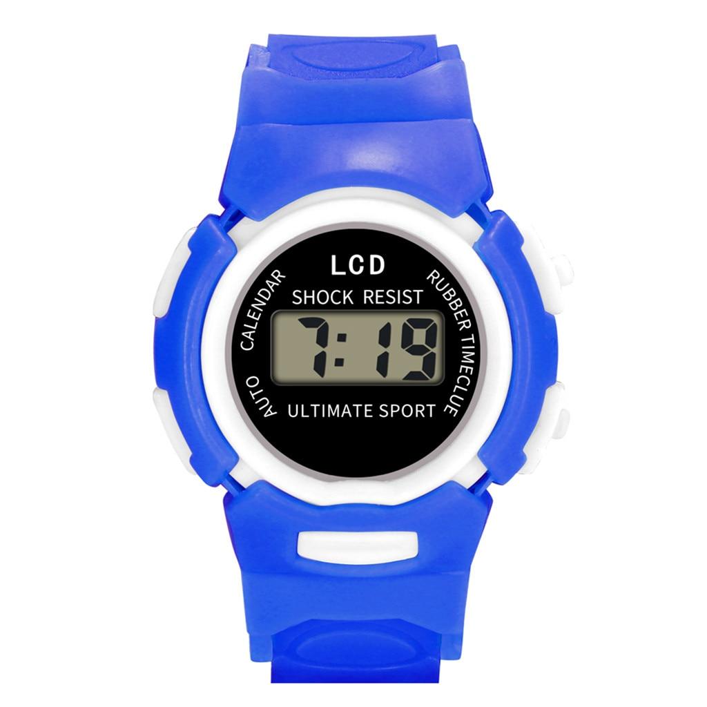 Children's Watches Children Girls Analog Digital Sport Led Electronic Waterproof Wrist Watch New