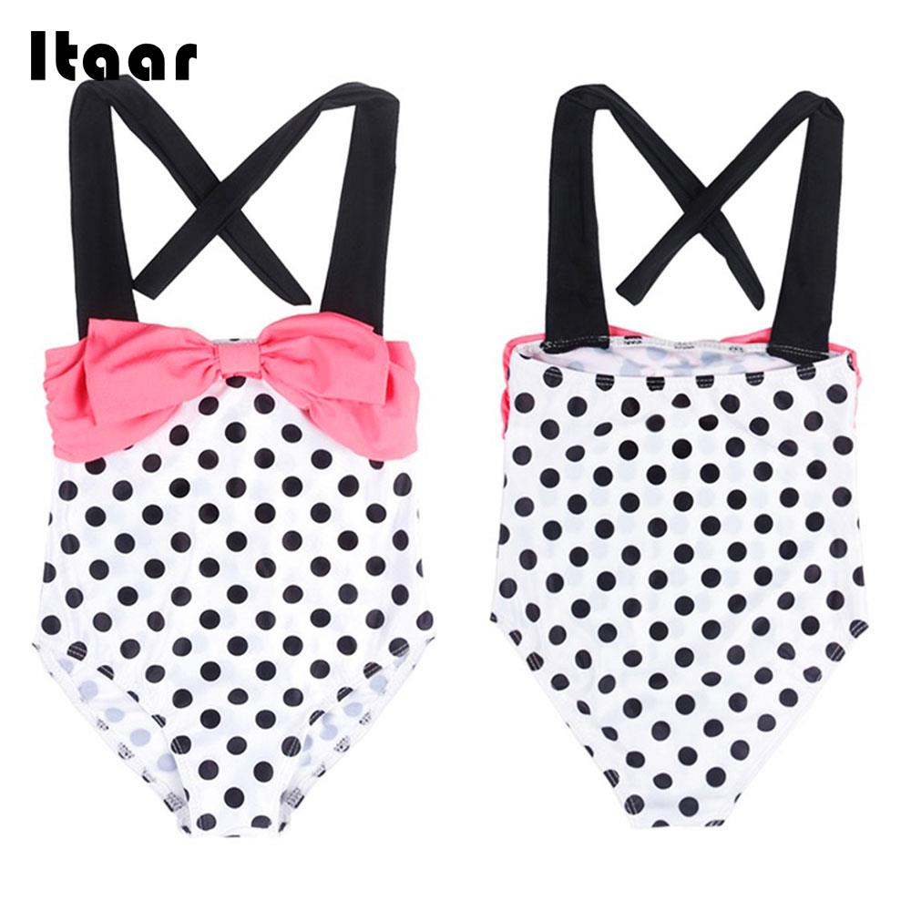 Girls Beachwear Comfortable Kids Swimwear Pool Seaside Swimwear Beach Swim Children Swimwear