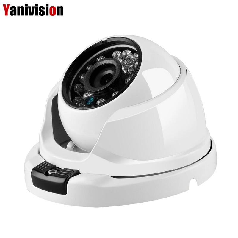 ONVIF P2P IP Camera Support H.265 5MP Surveillance IP Camera IR Cut Night Vision Danale APP Small Dome IP Cam
