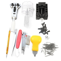 Popular 144 PCS Excellent Watch Repair Tool Kit Pin Remover Professional Non Slip Handle Used For