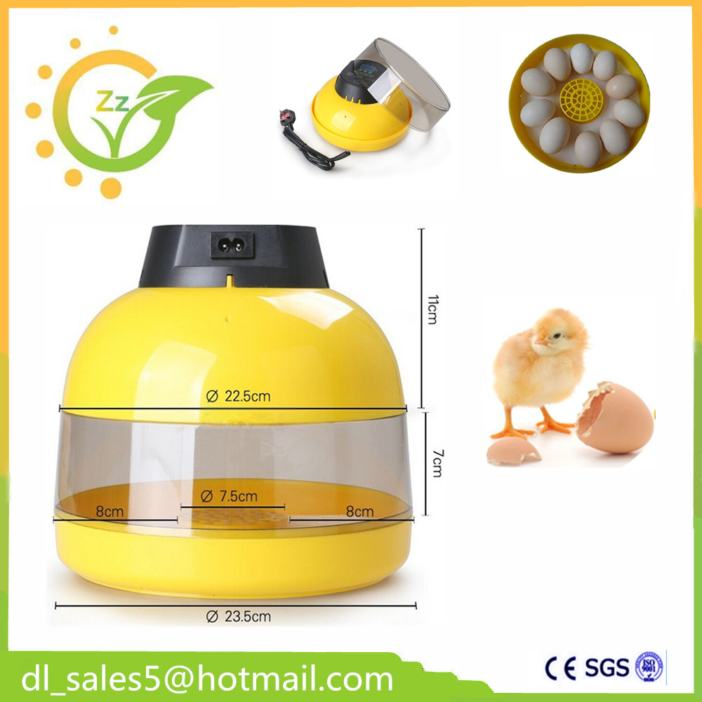 10 Eggs  Incubator Automatic Controller Poultry Mini Brooder Hatchery Machine for Chicken Duck Quail Birds home use mini incubator brooder duck eggs incubators automatic chicken egg incubator hatching machine