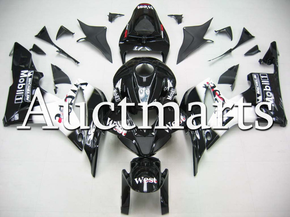 For Honda CBR 600 RR 2007 2008 Injection  ABS Plastic motorcycle Fairing Kit Bodywork CBR 600RR 07 08 CBR600RR CBR600 RR CB16