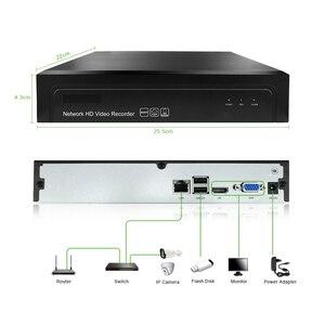 Image 3 - 16ch 2MP H.265 NVR شبكة مسجل فيديو 1080P 1 HDD 24/7 تسجيل IP كاميرا Onvif 2.6 P2P نظام الأمن كام G.