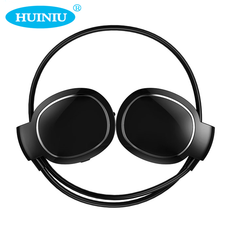 HUINIU Bluetooh Sport Earphone Touch Control Headphone Audio Sweatproof Running Headset With Mic Ear Hook For All Mobile Phone