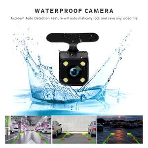 "Image 4 - 4.0"" Car Dash Cam Full HD 1080P 170 Degree Video Recorder Dual Lens Vehicle Camera Car DVR with Rear View G sensor Night Vision"