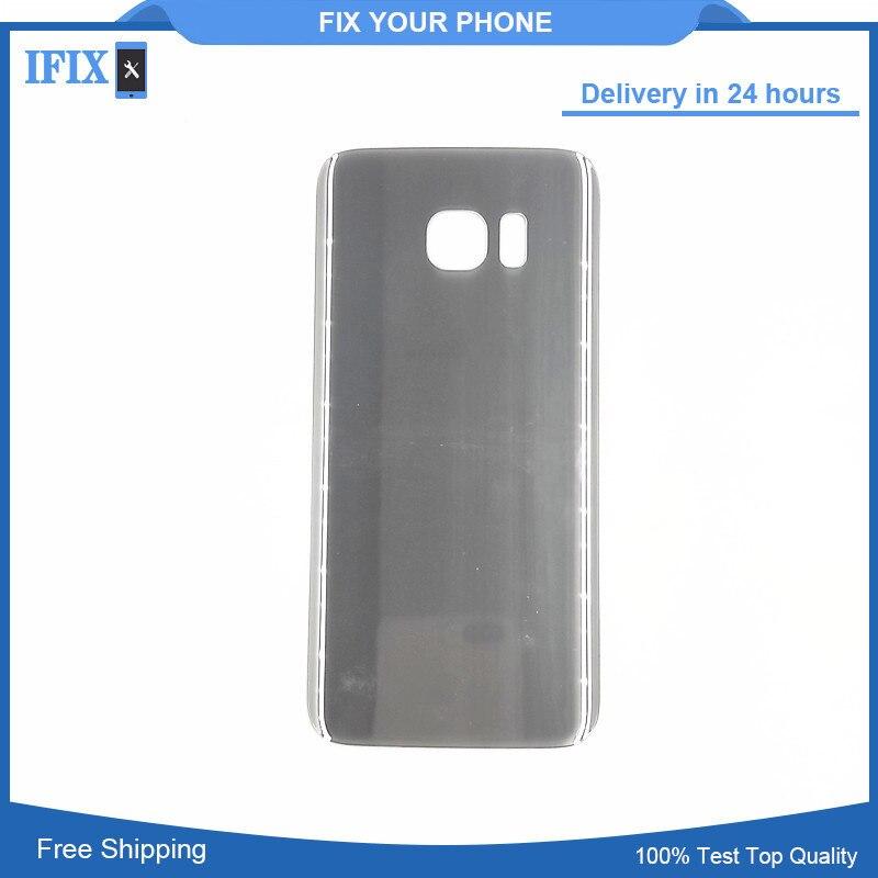 Für Samsung Galaxy S7 Rand G935 G935F Batterie Zurück Abdeckung Tür Gehäuse Ersatz Reparatur Teile Mit klebstoff