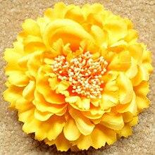 Zebery пляж фотографии реквизит чешские цветок заколку для волос праздник большой подсолнечник цветущие ткани брошь шпилька бутик