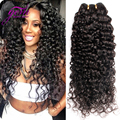 Malaysian Curly Hair Malaysian Kinky Curly Virgin Hair 4PCS,VIP GEM Beauty Malaysian Mink Curly Human Weave Bundles Black 8-30
