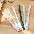 3pcs Eyebrow Razor Facial Hair Remover Portable Professional Eyebrow Trimmer Sharp Mini Makeup Knife Shaper Shaver For Women