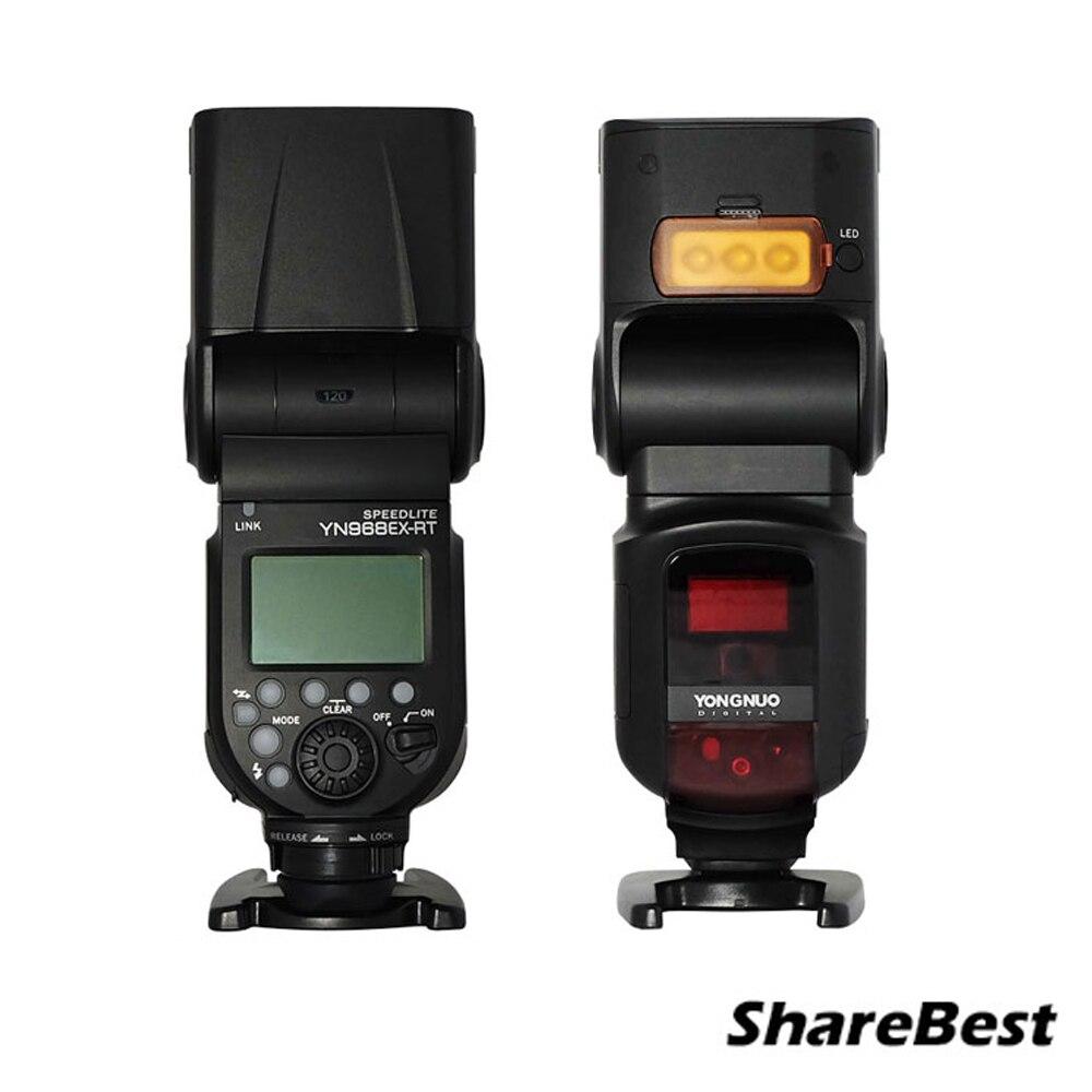 YONGNUO YN968EX RT TTL Wireless Flash Speedlite with LED Light Compatible with YN E3 RT YN600EX