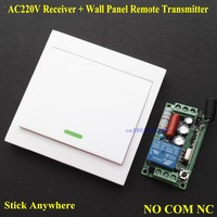 Smart Home Light Lamp LED Strips Wireless Relay Remote Switch Wall Panel Remote Transmitter Sticky Remote